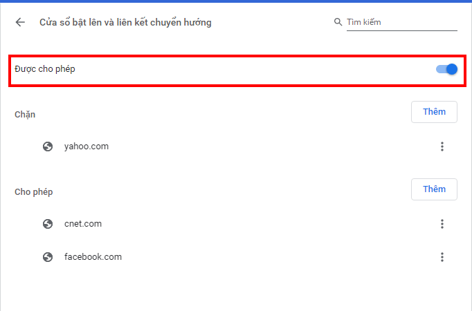 chặn các trang web tự mở hình 5