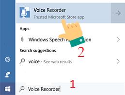 ghi âm trên máy tính laptop windows 10 hình 1
