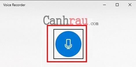 ghi âm trên máy tính laptop windows 10 hình 2