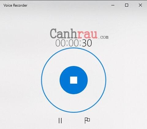 ghi âm trên máy tính laptop windows 10 hình 3