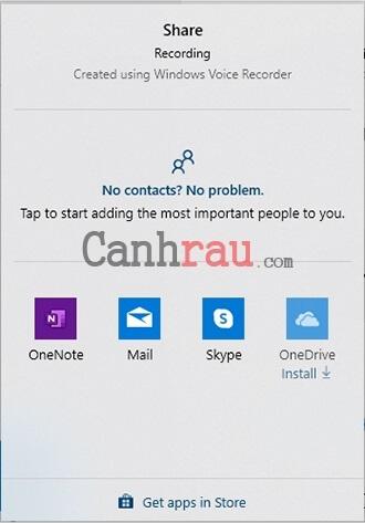 ghi âm trên máy tính laptop windows 10 hình 8