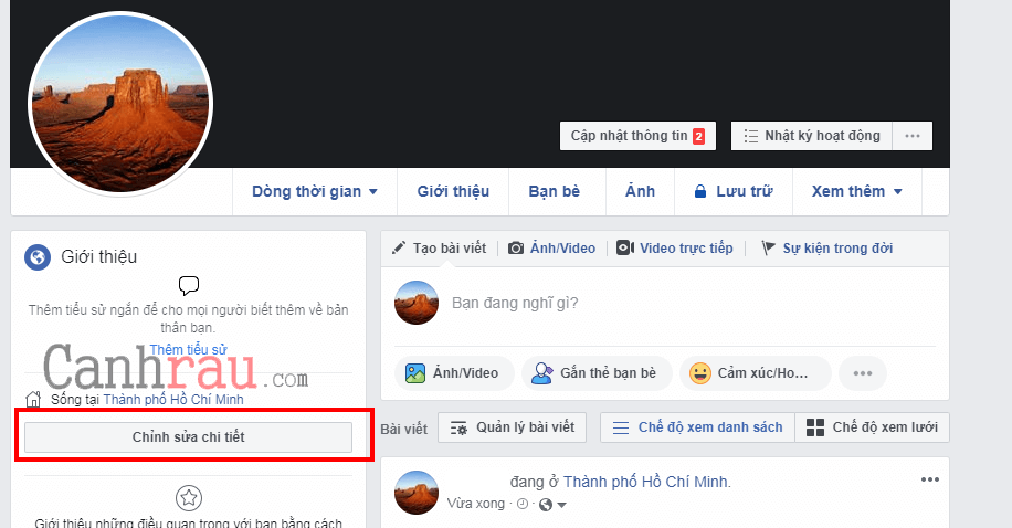 hiển thị số người theo dõi facebook trên trang cá nhân hình 1