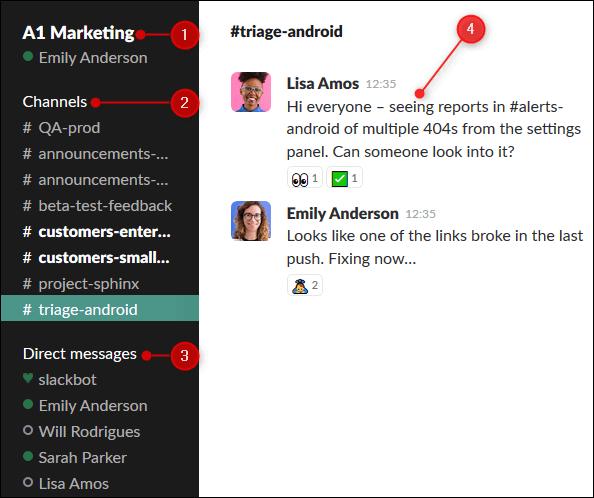 Hướng dẫn sử dụng Slack