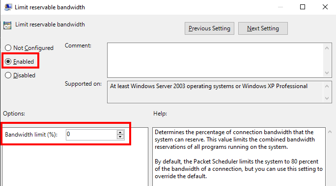 hướng dẫn tăng tốc độ mạng Windows 10 hình 3