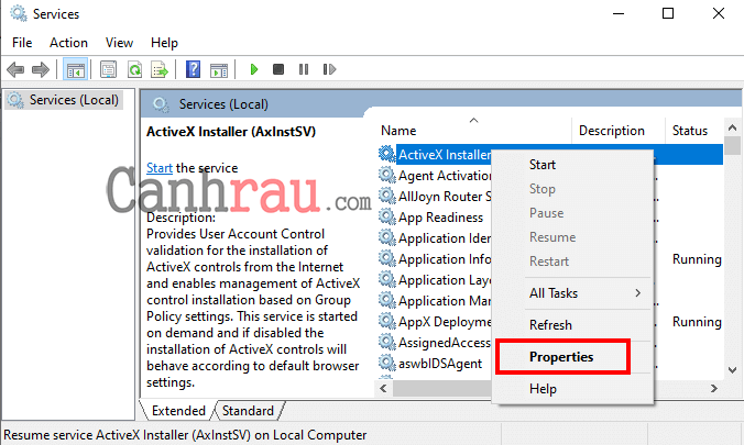 hướng dẫn tắt service dịch vụ không sử dụng Windows 10 7 hình 2