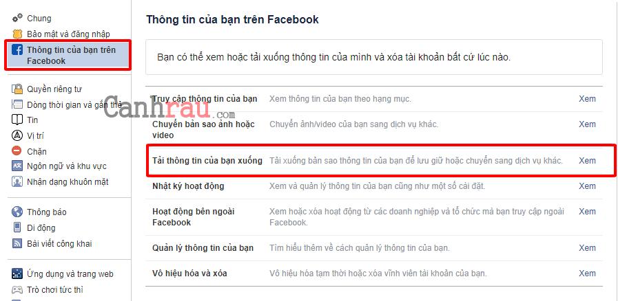 Hướng dẫn xóa tài khoản Facebook vĩnh viễn hình 2