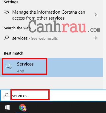 sử dụng services để tắt superfetch hình 1
