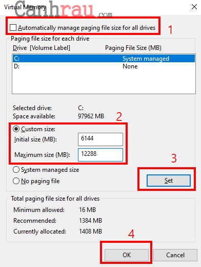 tăng tốc laptop windows 10 hình 3