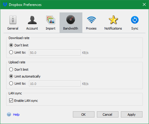Tăng tốc mạng Windows 10