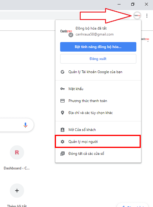 tạo tài khoản gmail không cần số điện thoại hình 2