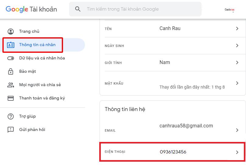 Tạo tài khoản gmail không giới hạn chỉ bằng một số điện thoại hình 2