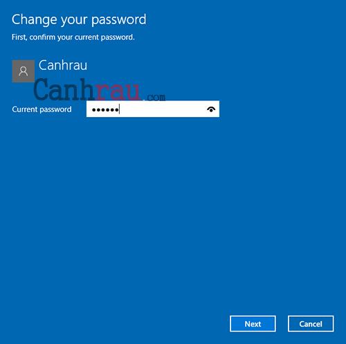 tắt mật khẩu Windows 10 thông thường hình 3