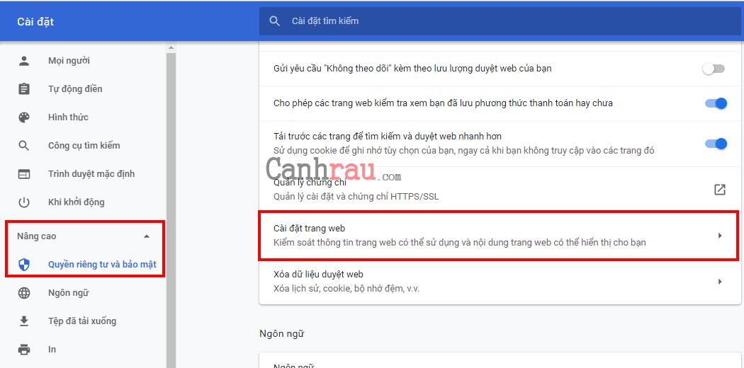 tắt thông báo google chrome trên máy tính hình 4
