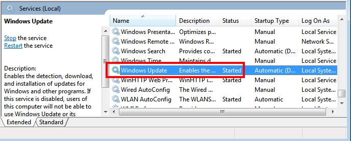 Tắt tự động update windows 10 hình 4