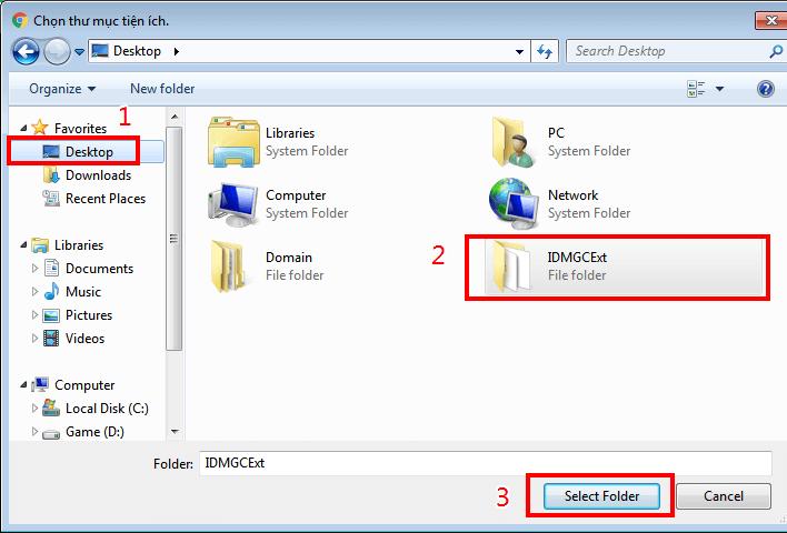 Thêm IDM vào Chrome bị lỗi hình 3
