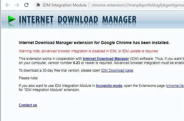 Thêm IDM vào Chrome bị lỗi hình 4