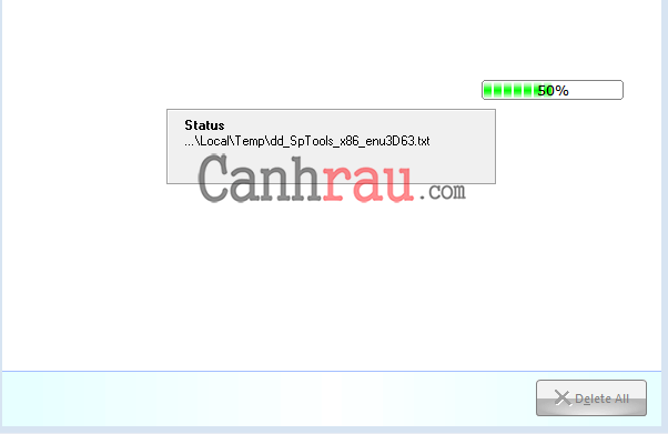Xóa file tạm hệ thống bằng Your Uninstaller hình 5