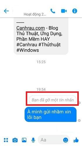 xóa tin nhắn messenger đã gửi trên điện thoại hình 3