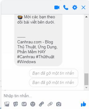 xóa tin nhắn messenger gửi nhầm trên máy tính hình 3