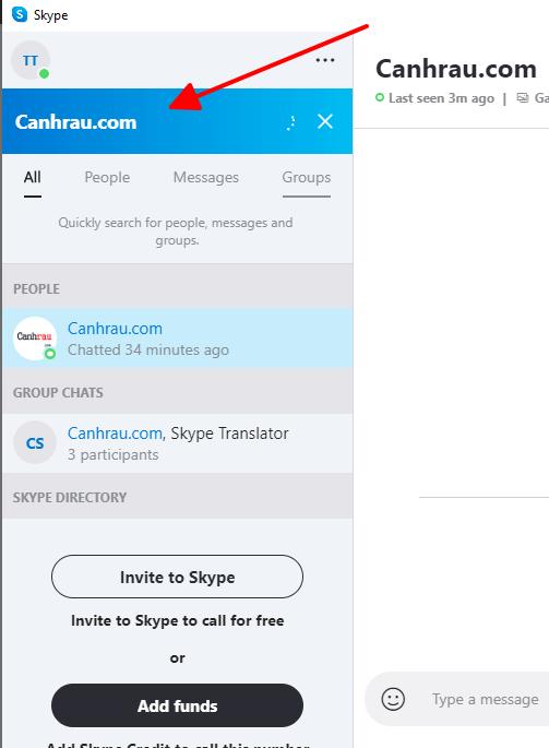 Hướng dẫn add bạn bè người thân Skype