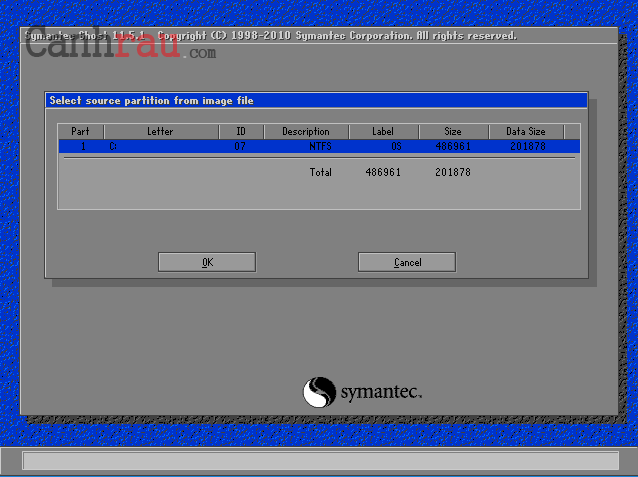 Cách bung file ghost windows 10/8.1/7 hình 3