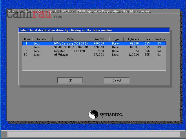 Cách bung file ghost windows 10/8.1/7 hình 4