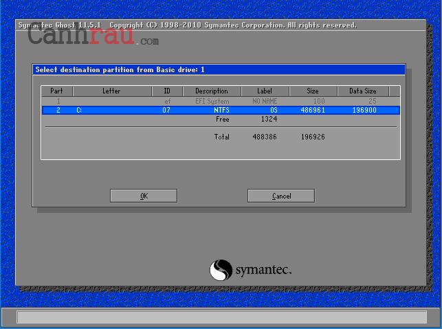 Cách bung file ghost windows 10/8.1/7 hình 5