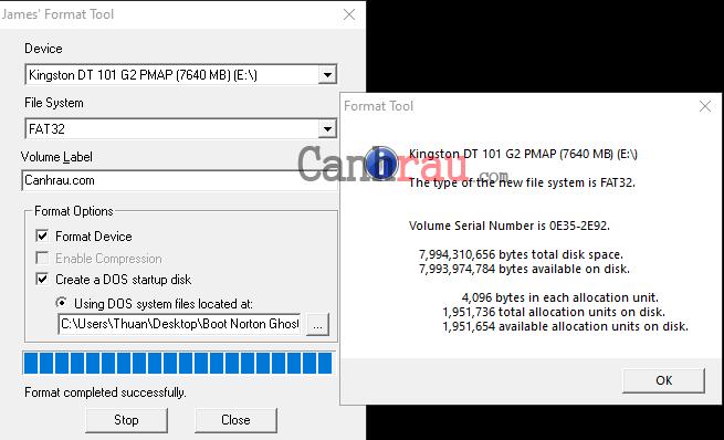 Cách ghost Windows 10 hình 3