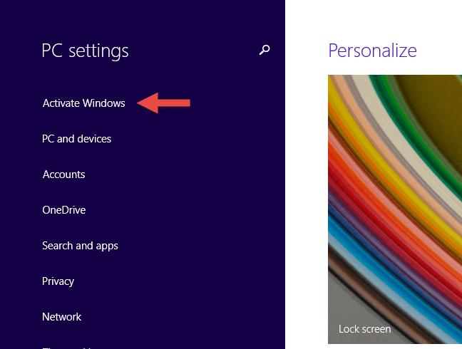 cách kiểm tra Windows 10 active bằng settings