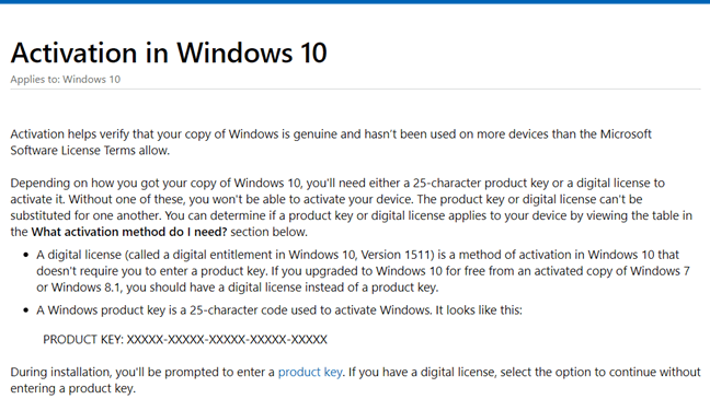 Cách kiểm tra Windows 10 kích hoạt chưa bằng Windows Settings hình 3