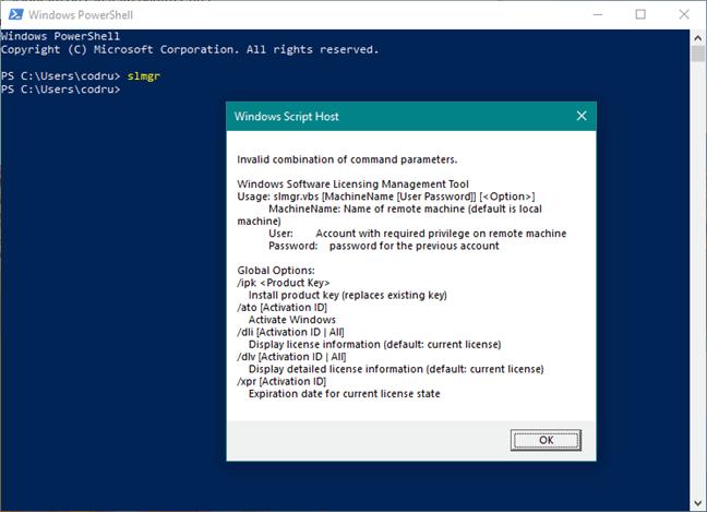 cách kiểm tra Windows active bằng cmd powershell hình 2