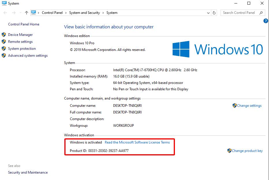Cách kiểm tra Windows của bạn có bản quyền hay không