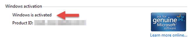 Cách kiểm tra Windows đã active bằng Windows Settings hình 4
