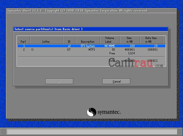 Cách tạo file ghost windows 10 không cần đĩa hình 3