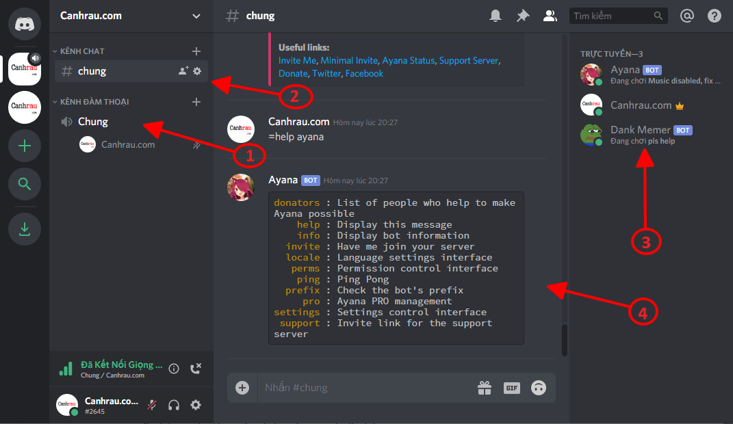 Hướng dẫn sử dụng Discord