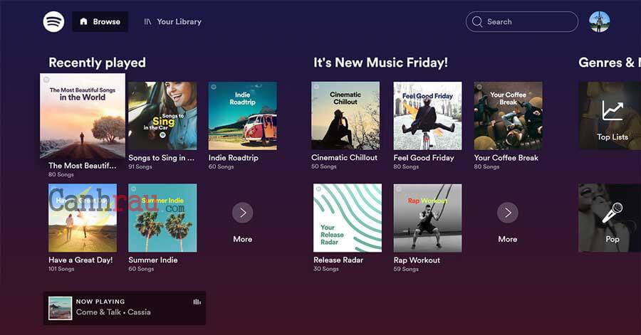 Top phần mềm nghe nhạc hay nhất hình 2