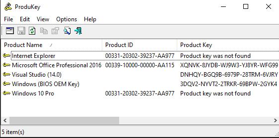 6 Cách tìm product key cho Windows hình 1