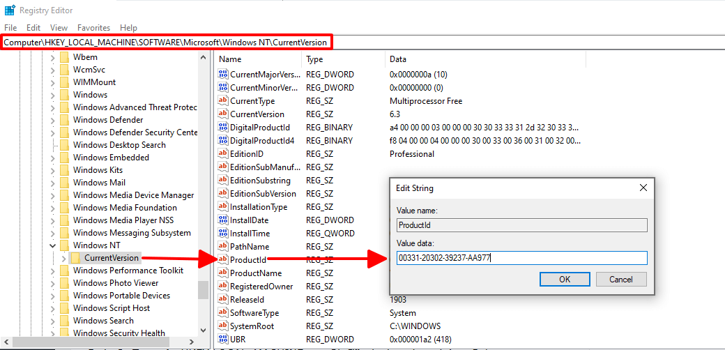 6 Cách tìm product key cho Windows hình 3