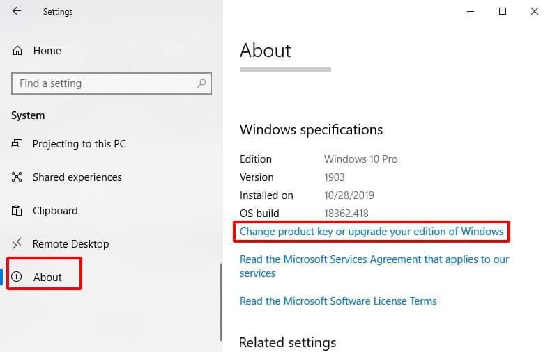 Hướng dẫn cách kích hoạt Windows bằng Product key hình 2