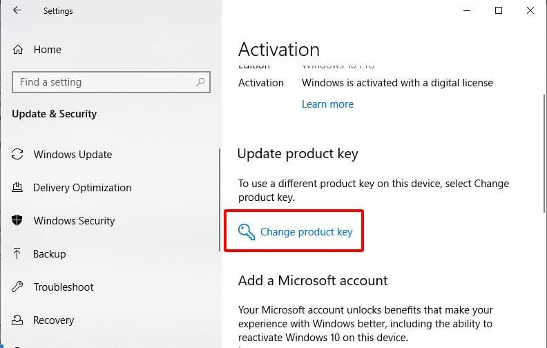 Hướng dẫn cách kích hoạt Windows bằng Product key hình 3