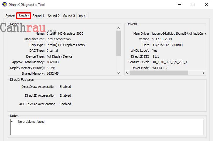 Cách xem và kiểm tra cấu hình máy tính hình 5