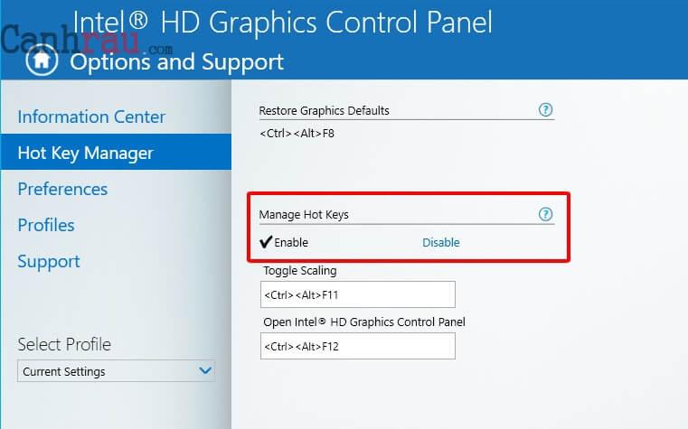 Cách xoay màn hình máy tính Windows 10 8.1 7 hình 4