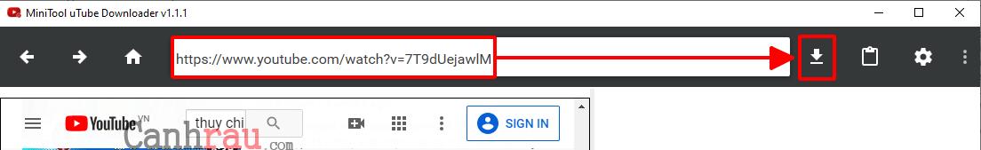 Hướng dẫn download video nhạc youtube về máy tính hình 5