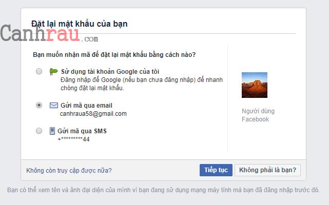 Hướng dẫn khôi phục tài khoản facebook không cần sdt email hình 3