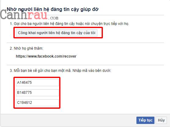Hướng dẫn khôi phục tài khoản facebook không cần sdt email hình 9