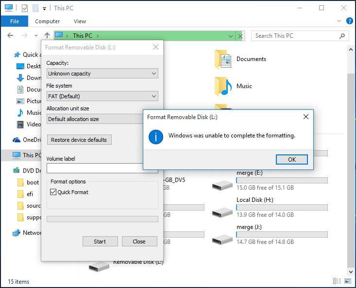 Hướng dẫn sửa lỗi USB không format được hình 1