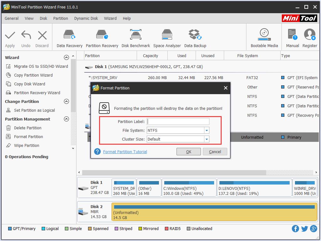 Hướng dẫn sửa lỗi USB không format được hình 11