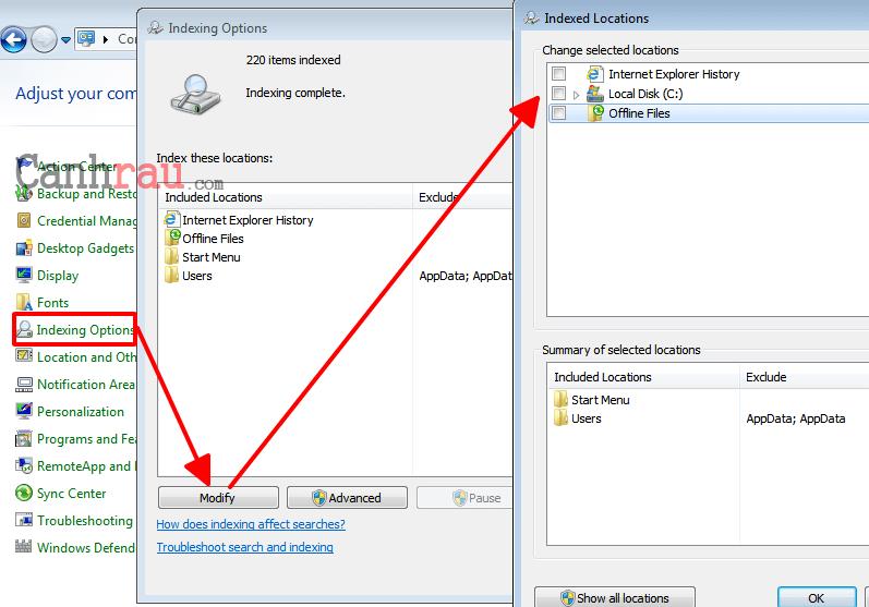 Hướng dẫn tăng tốc máy tính Windows 7 hình 11