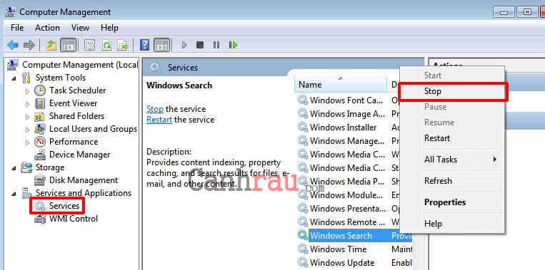 Hướng dẫn tăng tốc máy tính Windows 7 hình 12