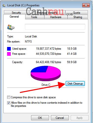 Hướng dẫn tăng tốc máy tính Windows 7 hình 7